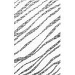 Декор керамический Кайман Черный 25x40