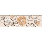 Фриз керамический Карат Бежевый 20x6
